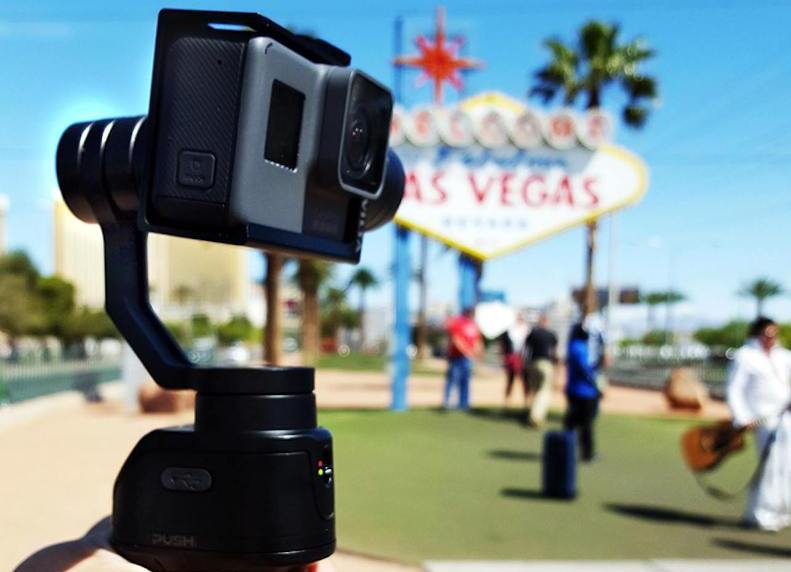 Extremely Versatile Freevision VILTA-G Gimbal Video Stabilizer