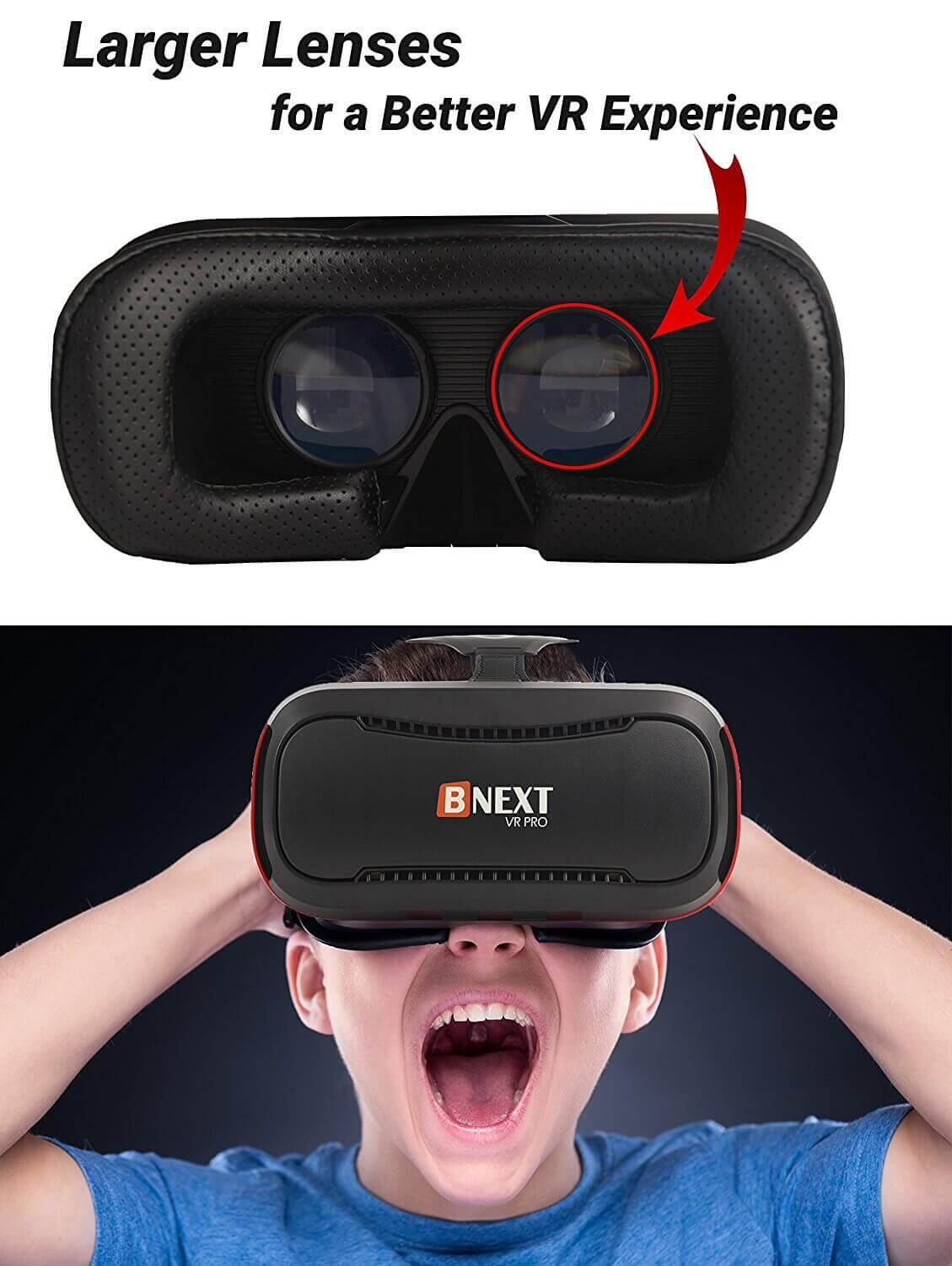 BNEXT Virtual Reality Headset Full Review With Pros And Cons