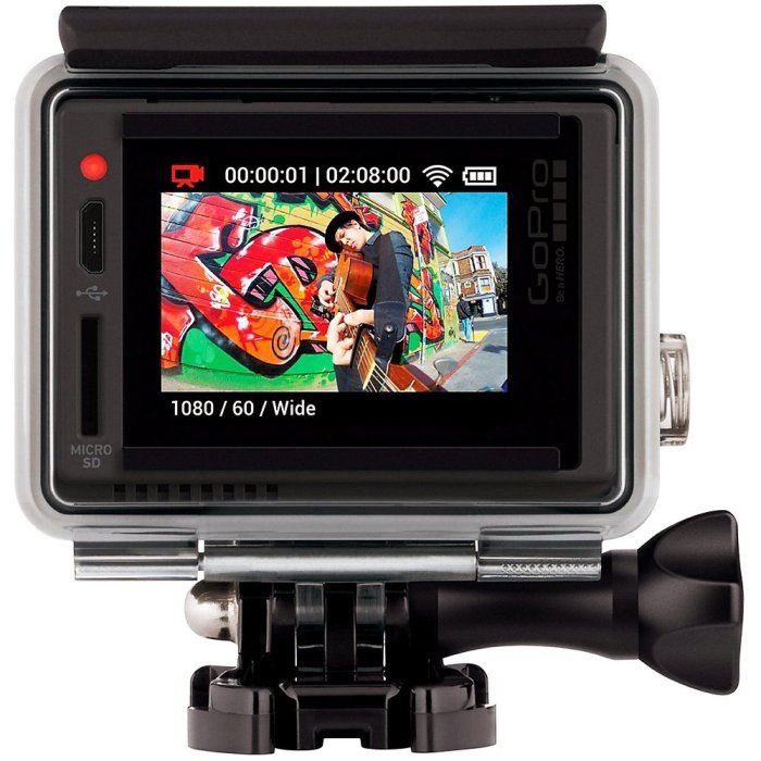 Best Body Mounted Action Camera GoPro Hero+ LCD With Full Review