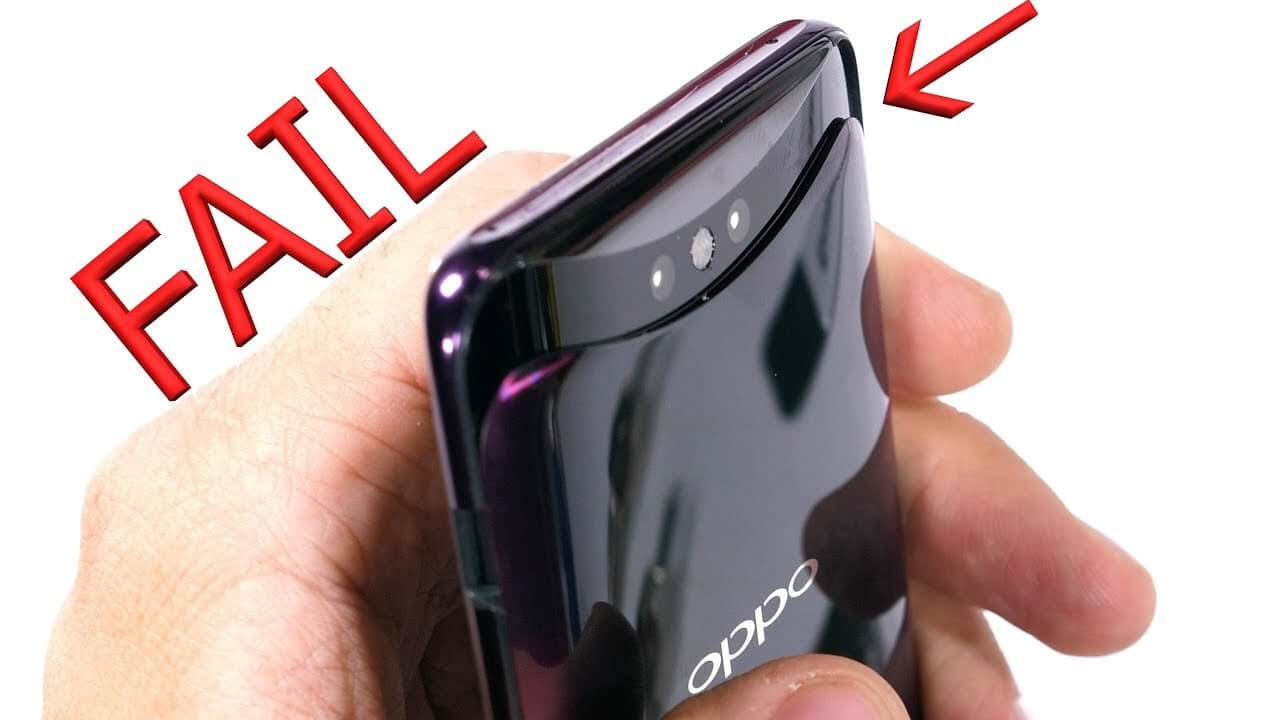Oppo Find X Shockingly Fails In Durability Test: Here's The Proof