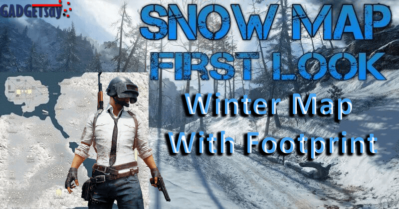 coming soon latest pubg 39 s winter map with footprint. Black Bedroom Furniture Sets. Home Design Ideas