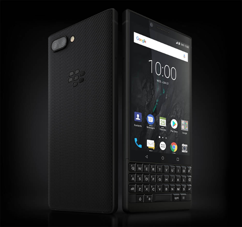 5. BlackBerry KEY2 | Best Smartphones July 2018 [Top 10] (Average Cost)