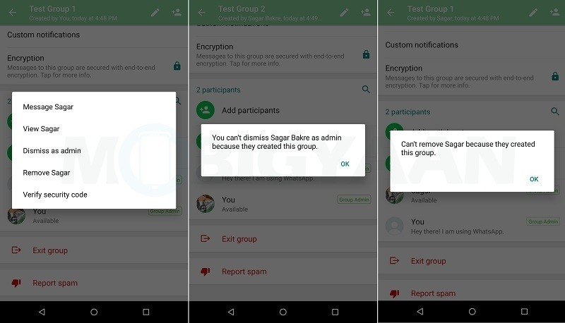 Whatsapp Now Let Group Admins To Block Members Sending Messages