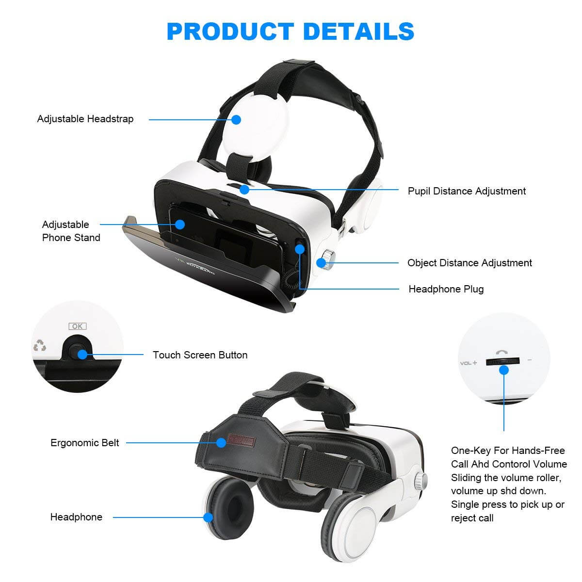 AOGUERBE VR Glasses Full Review With Pros and Cons